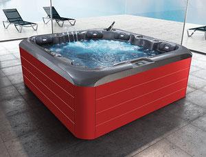 Outdoor-Whirlpool für 6 Personen