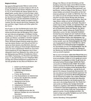 Zum Aalkistensee bei Maulbronn, Wegbeschreibung (Text)  und Wegstrecke  von Günther Bösenberg, Untergruppenbach. Zur Vergrößerung: klicken Sie auf den Text!