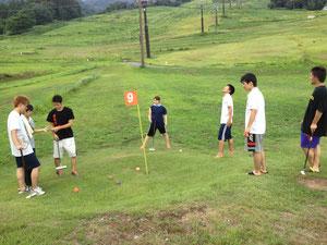 中日のゴルフ