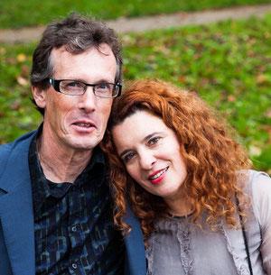 Teresa Pinyol y Ronald Kerkhoven