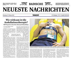 Bericht Badische Zeitung 12.02.2013