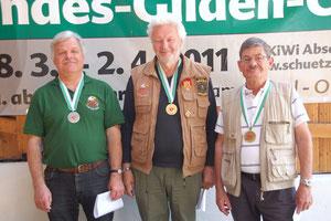 S2 1. Arno Gufler, 2. Franz Oberdanner, 3. Gerhard Leschinger.