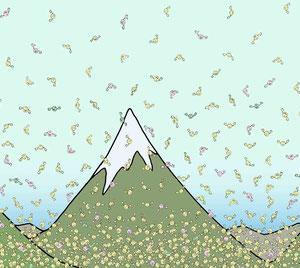 Die Anzahl der Luftteilchen nimmt mit der Höhe ab (aus Nelas Welt)