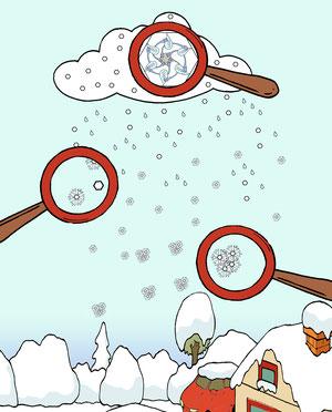 Man freut sich über den ersten Schneemann der Saison