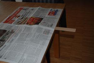So bleibt die Zeitung liegen