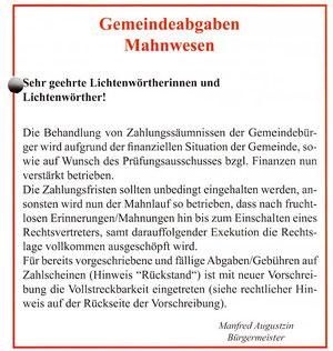 Quelle: Mitteilungen der Marktgemeinde Lichtenwörth Ausgabe3/201009-zum vergrößern auf das bild klicken!
