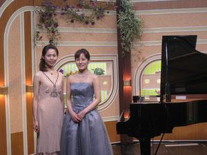 NHKサンデーコンサート8月1日 親友の出演者と。