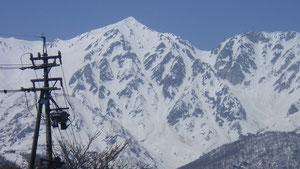 白馬鑓ヶ岳