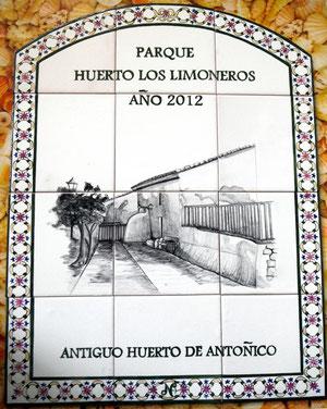 Huerta de Antoñico.