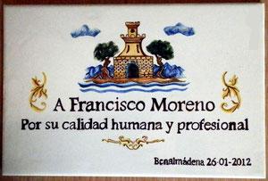 Trofeo Francisco Moreno,
