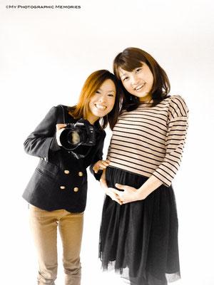 小西あゆ香さんと一緒に撮らしてもらいました☆