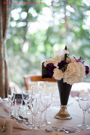 テーブル装花も素敵です