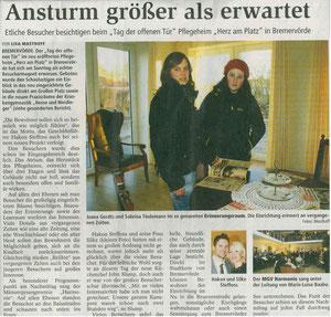 Bremervörder Zeitung, 17.01.12