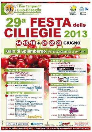 Festa delle CILIEGIE 2013-Gaio di Spilimbergo