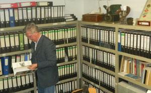Unser Archiv in Hagen