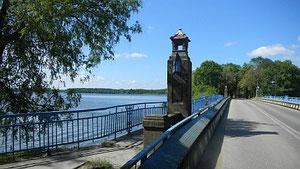 Brücke über den Lyck-See