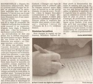 ICL correcteur Grammaire sexiste?