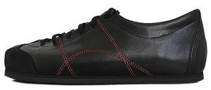 Sneadoxx 1962 Black Red Sneaker