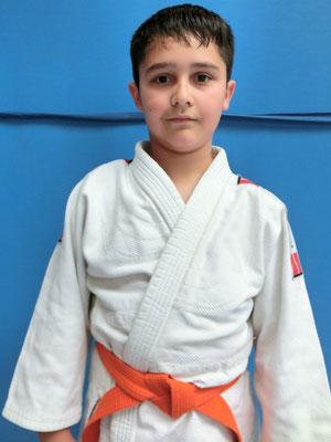 Roman Alyunov, 3. Platz Schulrangliste 2011-2012