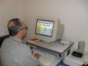 Armando Fiscon al lavoro col Sito de Amissimondoveneto