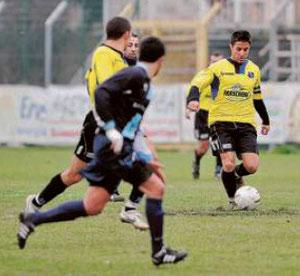Cuneo, autore del terzo gol