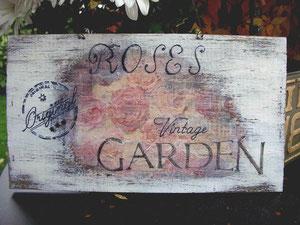 und noch ein Gartenschild