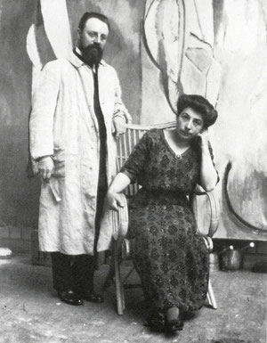 Amelie and Henri Matisse