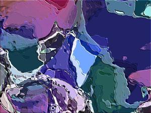 Himalaya - Computer graphics - 70 X 50
