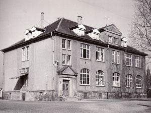 dudweiler, saarbruecken, schule, muehlenschule, domanialschule, 1924