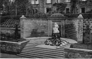 dudweiler, saarbruecken, kriegerdenkmal,  1926