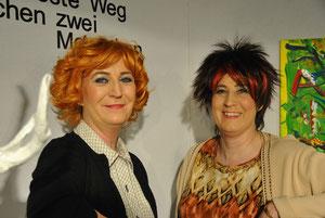 Ingeborg Seib und Anette Gsimbsl
