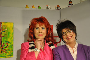 Elke Tautenhahn und Petra Schmedding