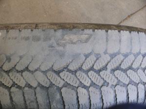 Reifenprobleme