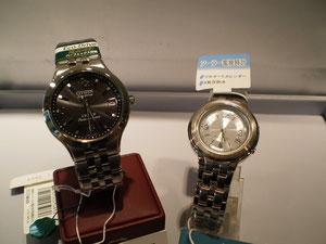 電波ソーラー時計の写真