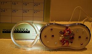 ライト付きルーペ レンズ収納可能 3.5倍