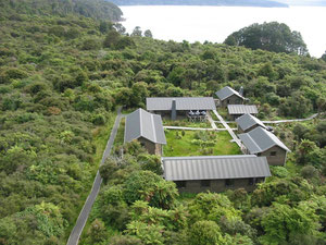 Port Craig Lodge on the Hump Ridge Track