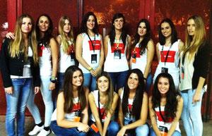 Chicas A10 para LB Apuestas en Mestalla
