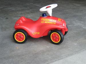 Einsatzfahrzeug Kindergarten Merbeck