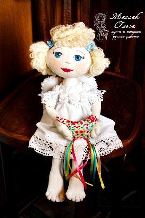 текстильная-кукла-ангел-Маслик-Ольга