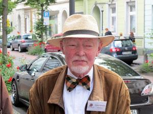 Herr Strasser, Gästeführer durch Kempen