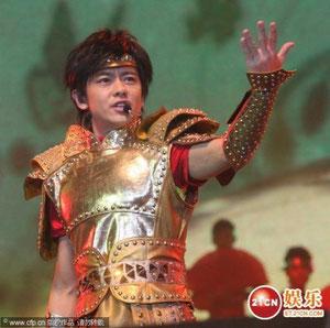 2009年11月の上海コンサート/少林寺2の片尾曲