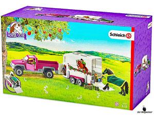 Empfehlung Schleich Pick-up mit Pferdeanhänger 42346