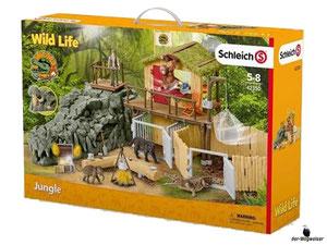 Empfehlung Schleich Dschungel Forschungsstation 42350