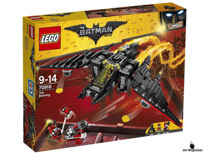 Empfehlung Lego Batman Movie Batwing 70916
