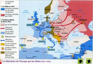 La libération de l'Europe par les Alliés