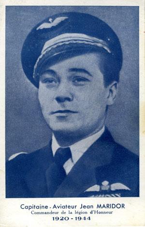 Image distribuée aux enfants de l'école Jean Maridor du Havre lors des commémotions de l'aviateur dans les années 1950 (coll. part.)