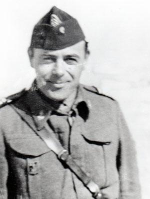 Amiel, chef de bataillon à Bir Hakeim