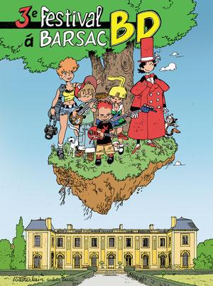 affiche festival BD Barsac