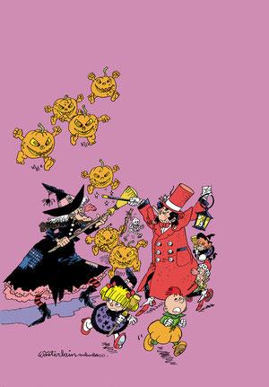 dr Poche et les citrouilles magiques - version flamande