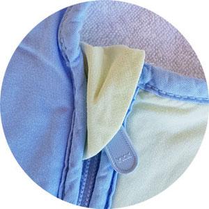 Babyschlafsack von Sterntaler Reißverschluss
